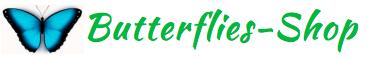Магазин живых бабочек Logo