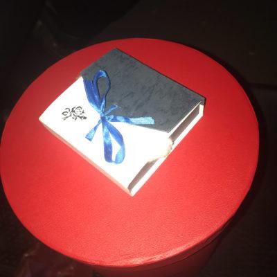 Подарочная коробка белая, маленькая