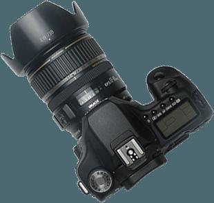 фотоаппарат на прозрачном фоне