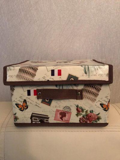 Складная коробочка с ручкой