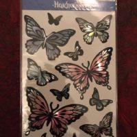 Набор наклеек butterflies