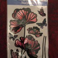 Наклейки для декорирования бабочками