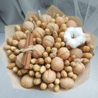 Букет из орехов настоящих